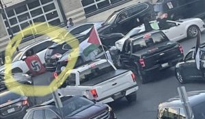 Toronto: Nazi flag at 8216;Palestinian8217; pro-jihad rally