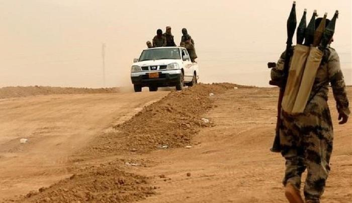 The Islamic State now controls more than ten towns