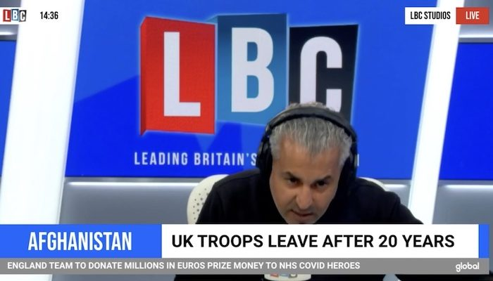 Maajid Nawaz claims 'Islamism' arose only with Afghan war, changes subject when asked about Quran's violent passages