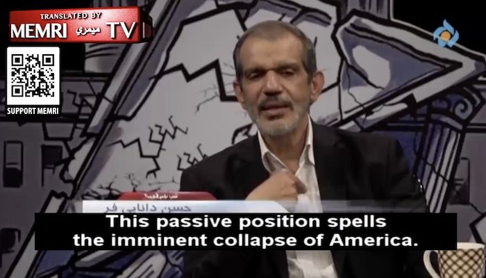 Iranian official: Biden 'cannot make decisions,' this 'passive position spells the imminent collapse of America'