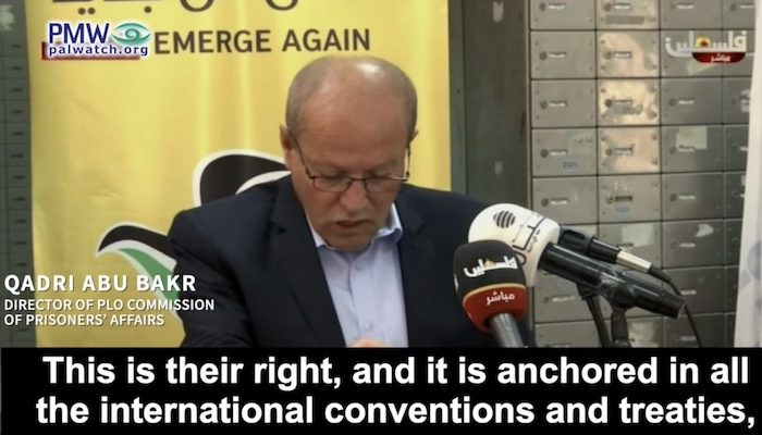 Palestinian Authority: 'We must continue to pay' jihad terrorists, 'this is their right'