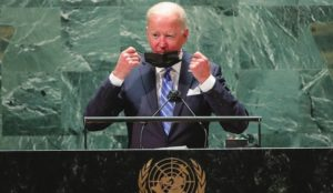 Joe Biden Speaks to UN General Assembly on Need for a 'Sovereign and Democratic Palestinian State'