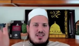 American Islamic spokesman defends wife-beating as a right on the basis of Islamic law