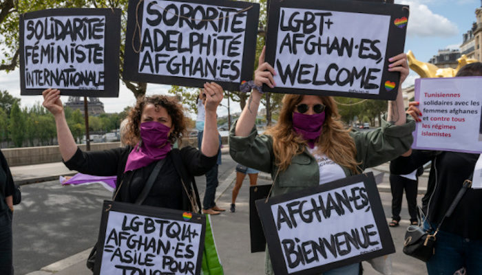 France: Feminists, gays, Jewish students welcome Afghan refugees
