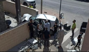 Spain: Muslim migrant prays, makes one-finger sign of uniqueness of Allah, crashes car into terrace, killing one