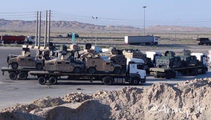 Taliban moving U.S. military vehicles to the Islamic Republic of Iran