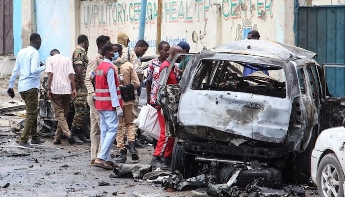 Somalia: Jihad suicide bomber kills 8, prime minister vows fight against 'the ruthless terrorists'