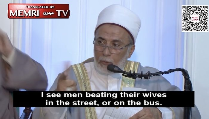 Islamic scholar: If one's wife 'is a nasty person and refuses to understand, in such a case, we turn to beating'