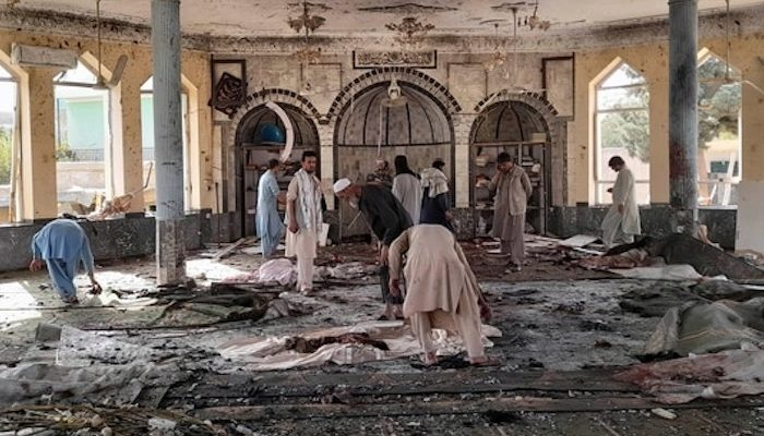 Afghanistan: Islamic State claims responsibility for mosque bombing that targeted Shi'ites, says perp was Uyghur