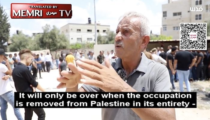 Fatah top dog: 'The battle will only be over when the occupation is removed from Palestine in its entirety'